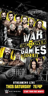 NXT TakeOver: WarGames (2018) 2018 WWE Network event