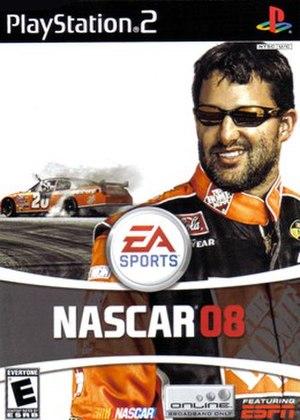 NASCAR 08 - Box art