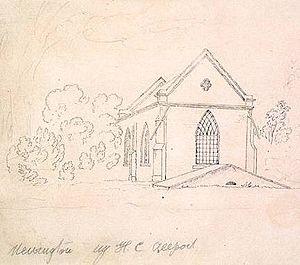 Newington, New South Wales - Image: Newington House Chapel