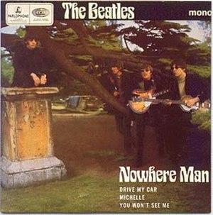 Nowhere Man (EP) - Image: Nowhere Man The Beatles