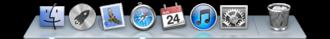 Dock (macOS) - OS X Mountain Lion's Dock