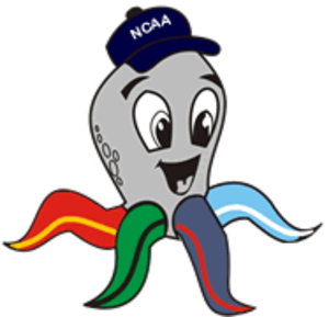 NCAA Season 81 - Octo-One, the mascot of the 81st season of the NCAA.