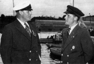 Sailing at the 1952 Summer Olympics - Image: Olav and Thorvaldsen