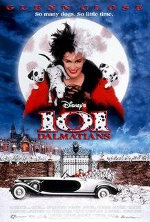 <i>101 Dalmatians</i> (1996 film) 1996 Walt Disney Pictures film directed by Stephen Herek