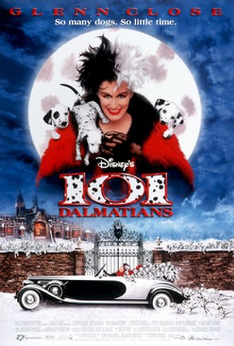 101 Dalmatians (1996 film) - Theatrical release poster