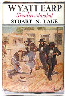 <i>Wyatt Earp: Frontier Marshal</i> book by Stuart N. Lake