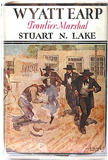 "Original cover art for ""Wyatt Earp Frontier Marshal"".jpg"