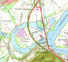 Topographic Map Ct.The Oxbow Connecticut River Wikipedia