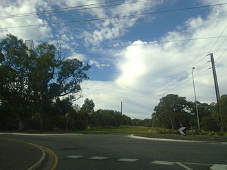 Panalatinga Road, Adelaide - Looking east where Panalatinga Road can be extended at States Road and Doctors Road.