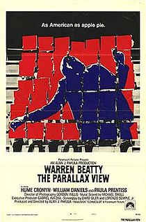 <i>The Parallax View</i> 1974 US political thriller film by Alan J. Pakula