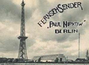 Fernsehsender Paul Nipkow - Image: Paul Nipkow TV