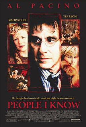 People I Know - Theatrical release poster