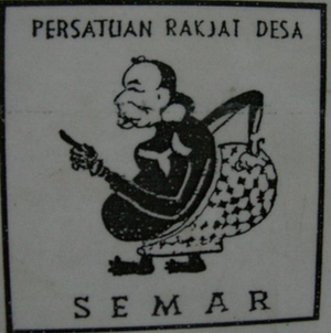 Village People's Union - Semar, the PRD election symbol