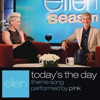 Today's the Day (Pink song) - Image: Pink Today's the Day