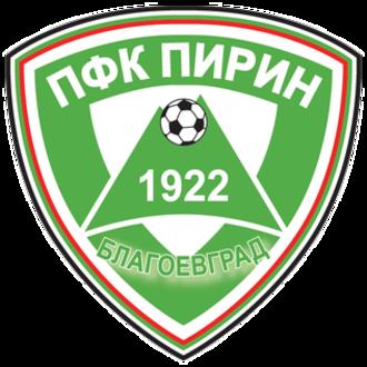 PFC Pirin Blagoevgrad - Pirin badge 2004–2006