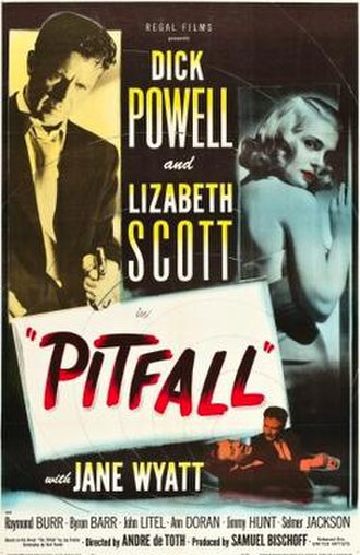 Pitfall (1948 film) - Theatrical release poster