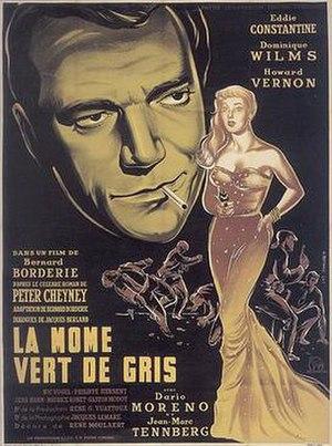 La môme vert-de-gris - Poster of the French movie