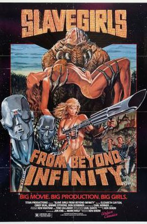 Slave Girls from Beyond Infinity - Image: Poster of the move Slave Girls from Beyond Infinity
