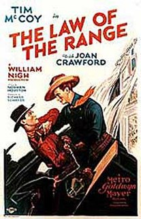 <i>The Law of the Range</i> 1928 film by William Nigh