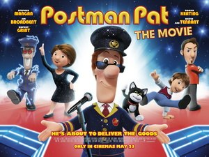 Postman Pat: The Movie - UK theatrical release poster