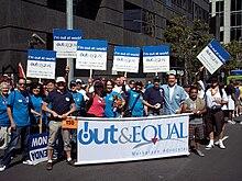 Out & Equal at San Francisco Pride 2010