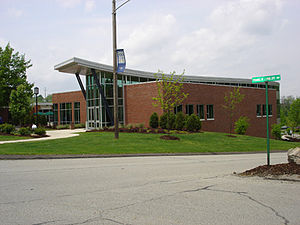 Penn State Greater Allegheny - The New Student Community Center, which opened in 2003.