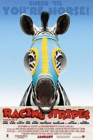 Racing Stripes - Theatrical release poster
