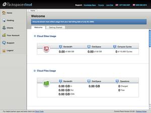Rackspace Cloud - Rackspace Cloud online control panel