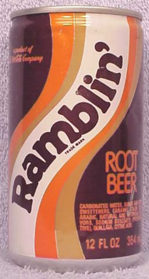 Ramblin' Root Beer - Image: Ramblinrootbeer