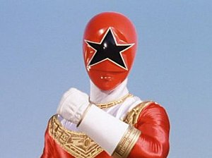 Tommy Oliver - Tommy as Zeo Ranger V Red.