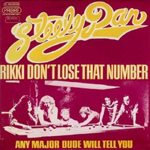 Rikki Don't Lose That Number - Image: Rikki Don't Lose That Number Steely Dan