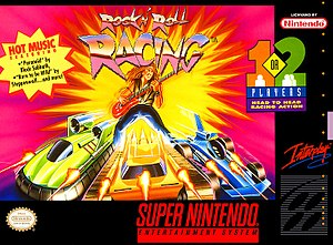 Rock n' Roll Racing - Cover art of Rock n' Roll Racing