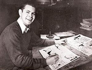 Napoleon and Uncle Elby - Roger Armstrong, who illustrated the strip in the 1950s.