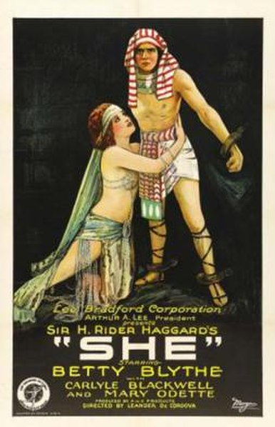 File:SHE (1925), Movie Poster.jpg
