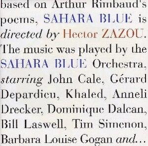Sahara Blue - Image: Sahara Blue by Hector Zazou