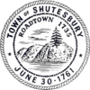 Official seal of Shutesbury, Massachusetts