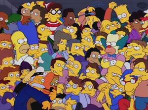 Bart's Comet - Image: Simpsons Waldo