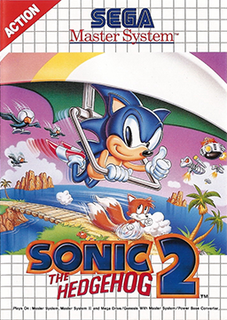 <i>Sonic the Hedgehog 2</i> (8-bit video game) 1992 8-bit video game
