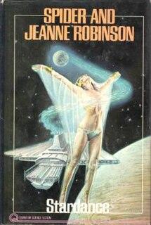 <i>Stardance</i> novel by Spider Robinson