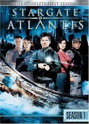 Stargate Atlantis (season 1) - DVD cover
