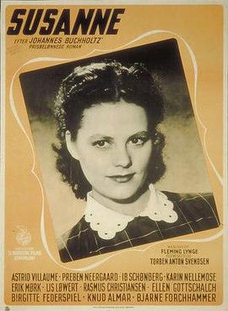Susanne (1950 film) - Image: Susanne Poster