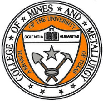 University of Texas at El Paso - College of Mines seal