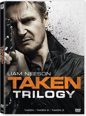 Taken (franchise) - The DVD cover for the 3-film box set