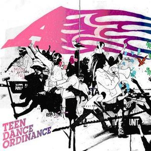 Teen Dance Ordinance (album) - Image: Tdordinance