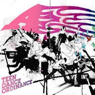 Teen Dance Ordinance (album) - Image: Tdordinance