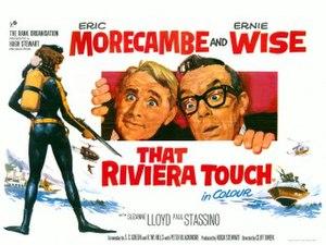 That Riviera Touch - Promotional film poster by Arnaldo Putzu