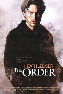 The Order movie dvd