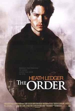 The Order (2003 film) - Image: The Order Poster