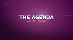 The Agenda with Tom Bradby - Former title card