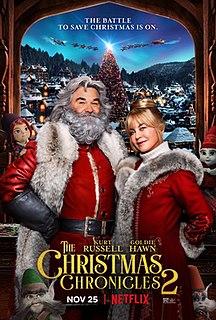 <i>The Christmas Chronicles 2</i> 2020 American Christmas comedy film